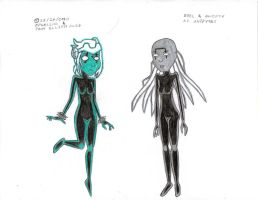 Zoel and Shifty as Anodytes by LittleGreenGamer