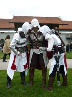 Ezio, Ezio and Altair o.O by KuroMidorii