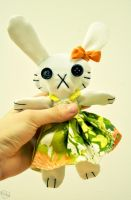 Bunny Plushie by Kridah
