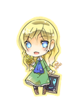 Ib-Chibi Mary by christon-clivef