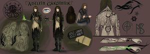 Adelein Gardinier TES character by Serpentwined