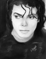 """Michael Jackson """"Bad"""" by sketchychick"""