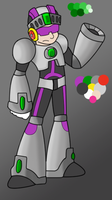 Issimo X - WIP Colors 2 by GreyScale9