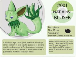 Pokemon Oryu 001 Bluser by shinyscyther