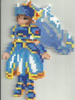 Valkyrie Profile - Lenneth by Ravenfox-Beadsprites