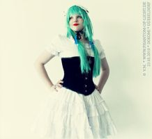 First time wearing a corset. by Mary--Sue