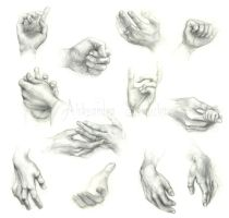 Hands by Ethlinn