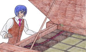 WOF-Piano Man color by Nintendraw