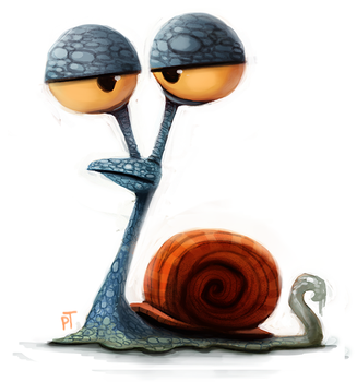 Day 554. Gary Quickie by Cryptid-Creations