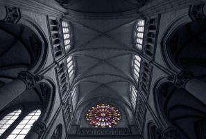 Ieper - Rose Window by lux69aeterna