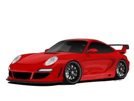 Porsche 911 Turbo 997 by matt-chops