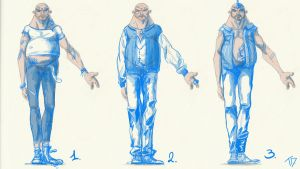 modelsheet for clothes part 1 by Breaky