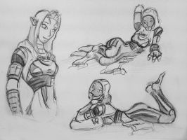 sketches Tali (84) by spaceMAXmarine