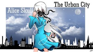 The Urban City: Alice Skull [the lonely] by dreamstephanie