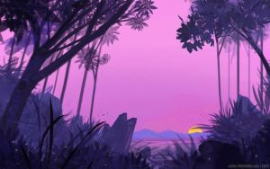Pink Landscape by YogFingers