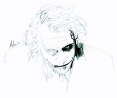 The Joker - WIP1 by kleinmeli