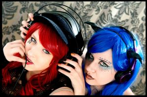 Punk Red and Blue by Angelicacosplay
