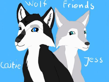 Wolf Friends by 95JEH