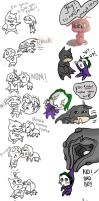 Chibi madness doodle dump by tormentedshadow