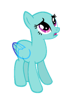 MLP Base- Confused Pony by alari1234-Bases