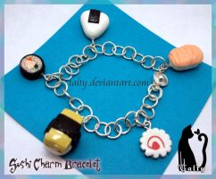 Sushi Charm Bracelet by Talty