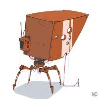 Another-little-robot by SPUD0NKEY