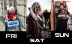 MCM Weekend Lineup by MJ-Cosplay