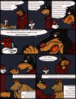 Comic Commission: Chow Hound The Untold Story 9 by CaseyLJones