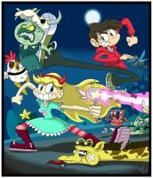 Star vs The Forces of Evil by Miledblur