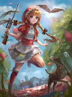 Little Red Riding Hood by Krisahe