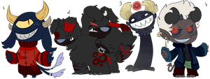 Monster Adopts by LeniProduction