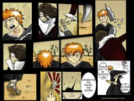 Ichigo finds his bankai by tomten