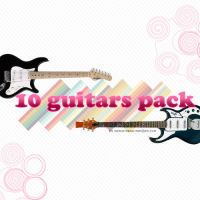 guitars pack' by shaketheglitter