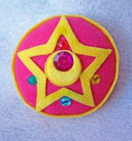 Sailor Moon R Plush Brooch by aleena