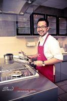 my self in kitchen by greende