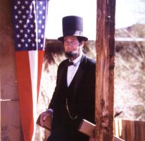 Abraham Lincoln by HellsComingWithMe