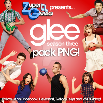Glee, Season 3 Pack PNG! * ZG Original * by ZuperGleeks