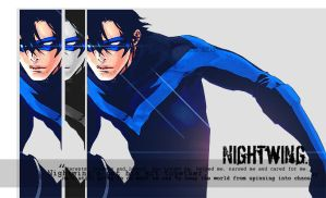 Nightwing by Deceiving-illusions