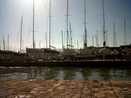 Cowes Harbour by EveryDayIsNewToMe