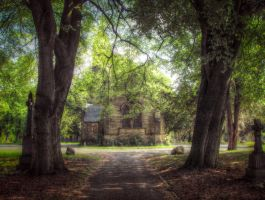 Cemetery chapel STOCK by needanewname