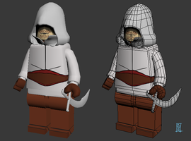 Lego Assassin by MrNinjutsu