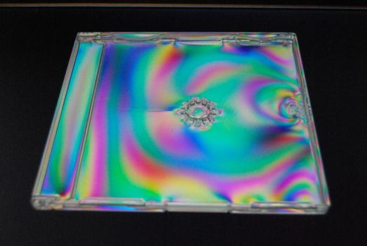 Funky CD Case by digita1Light