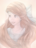 Ariel The Little Mermaid Drawing by sunyeon-snsd