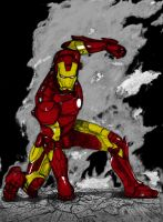 Iron Man Mark III v2 by SilverLeon88