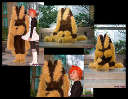 Lopunny Mascot Costume by UmbraVulpis