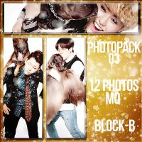 +Photopack #3 Block-B by SaviourHaunted