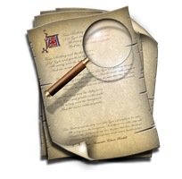 Steampunk Search Icon MkIII by yereverluvinuncleber