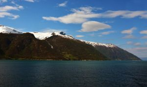 Sailing the fjords to Skjolden 19 by abelamario