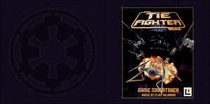 TIE Fighter music CD cover, front by MillenniumFalsehood