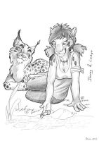Tracey and Lynkyo by theOlven